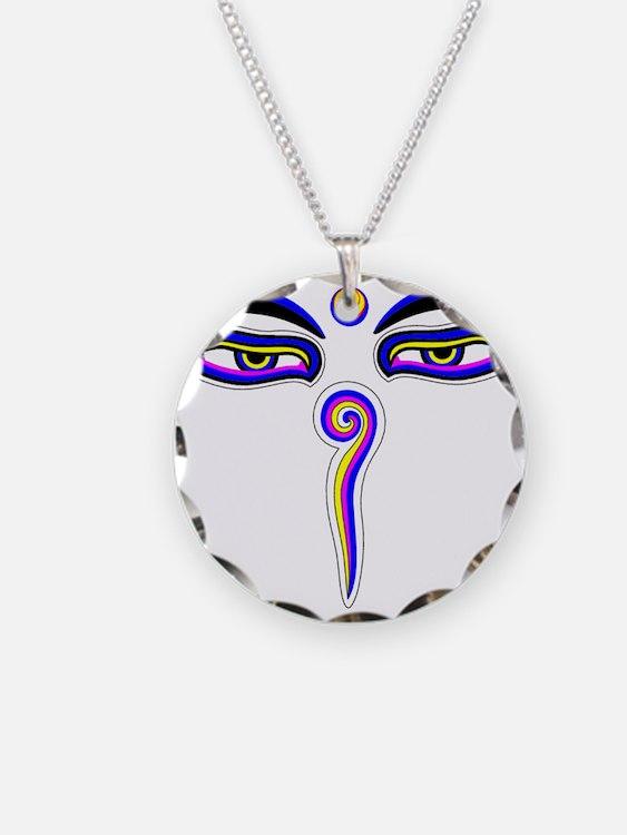 Peace Eyes (Buddha Wisdom Eyes) Necklace