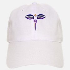 Peace Eyes (Buddha Wisdom Eyes) Baseball Baseball Cap