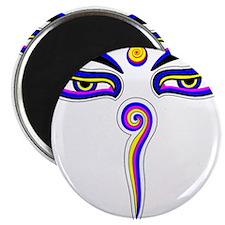 Peace Eyes (Buddha Wisdom Eyes) Magnet