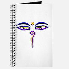 Peace Eyes (Buddha Wisdom Eyes) Journal