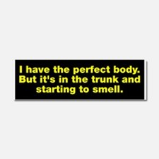Body In Trunk Car Magnet 10 x 3