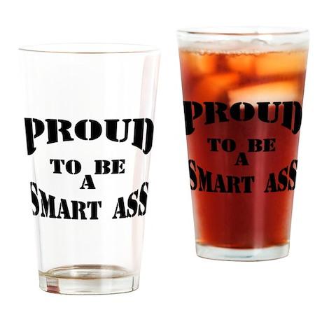 smartass Drinking Glass