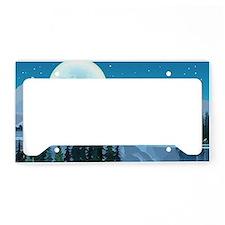 Mountain Sky License Plate Holder