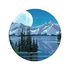 """Mountain Sky 3.5"""" Button"""