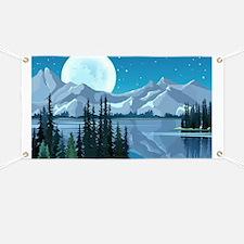 Mountain Sky Banner