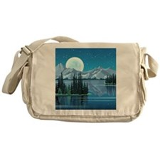 Mountain Sky Messenger Bag