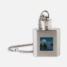 Mountain Sky Flask Necklace