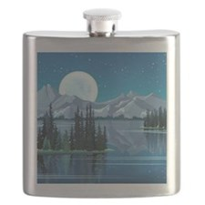 Mountain Sky Flask