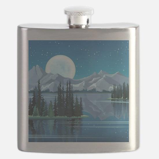Mountain Sky Flask