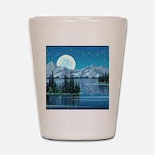 Mountain Sky Shot Glass