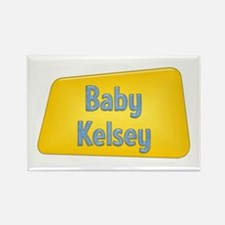 Baby Kelsey Rectangle Magnet
