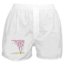 Tree in Spring Boxer Shorts