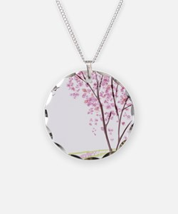 Tree in Spring Necklace