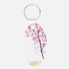 Tree in Spring Keychains