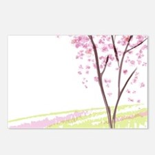 Tree in Spring Postcards (Package of 8)