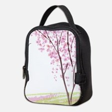 Tree in Spring Neoprene Lunch Bag
