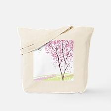 Tree in Spring Tote Bag