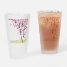 Tree in Spring Drinking Glass