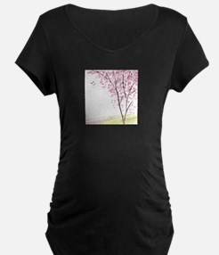 Tree in Spring Maternity T-Shirt