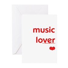 Music Lover   Greeting Cards (6)