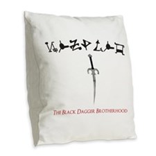 Zsadist OL Burlap Throw Pillow