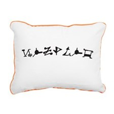 Zsadist OL Rectangular Canvas Pillow