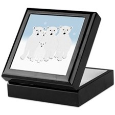 Polar Bears Keepsake Box