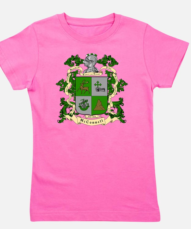 McConnell Coat of Arms Girl's Tee