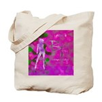 Pink Lady Tote Bag