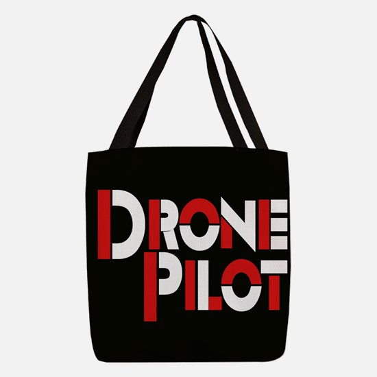 Drone Pilot Polyester Tote Bag