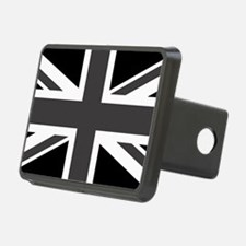 Union Jack - Black and White Hitch Cover