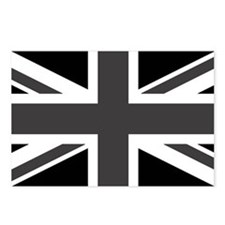 Union Jack - Black and White Postcards (Package of