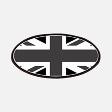 Union Jack - Black and White Patches