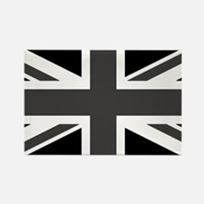 Union Jack - Black and White Magnets