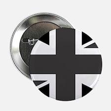 "Union Jack - Black and White 2.25"" Button"