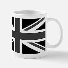 Union Jack - Black and White Mugs