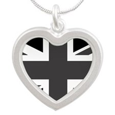 Union Jack - Black and White Necklaces