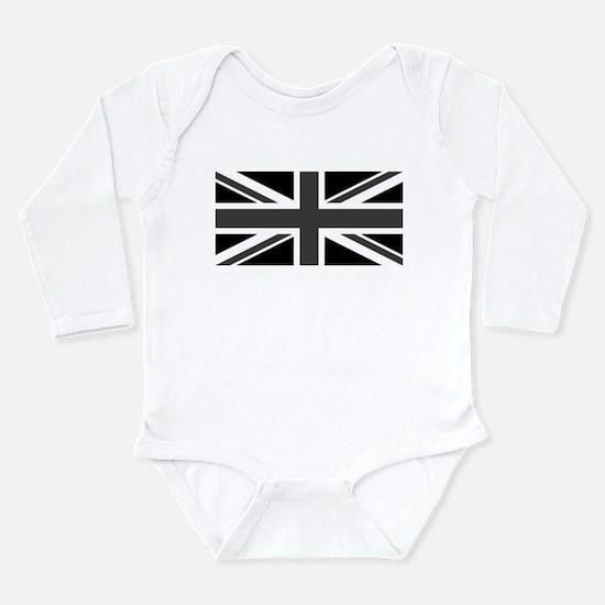 Union Jack - Black and White Body Suit
