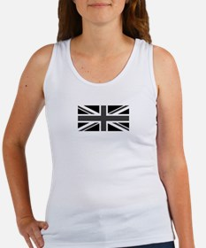 Union Jack - Black and White Tank Top