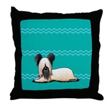 Resting Skye Throw Pillow