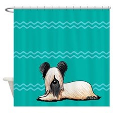 Resting Skye Shower Curtain