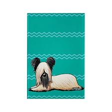 Resting Skye Rectangle Magnet (100 pack)