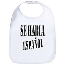 Se habla espanol - Spanish speaking Bib
