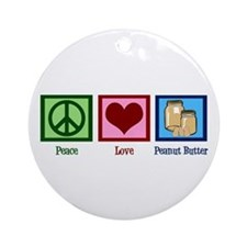 Peanut Butter Ornament (Round)