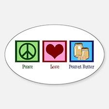 Peanut Butter Sticker (Oval)
