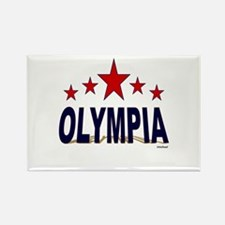 Olympia Rectangle Magnet