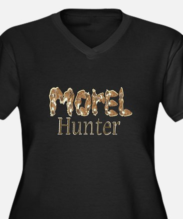 Morel hunter gifts and t-shir Women's Plus Size V-