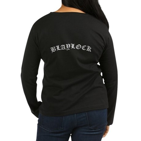 MINE Blaylock Women's Long Sleeve Dark T-Shirt