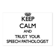 Keep Calm and Trust Your Speech Pathologist Postca