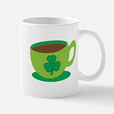 Irish coffee with green coffee mug Mugs
